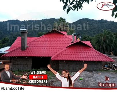 BambooTile-Maroon-Roofing-Mabati