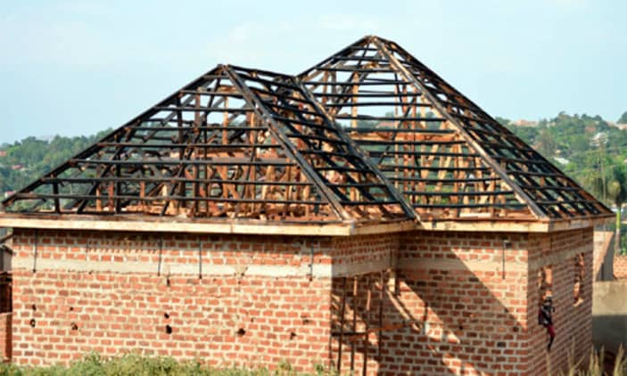 Ongoing Project, Awaiting roofing
