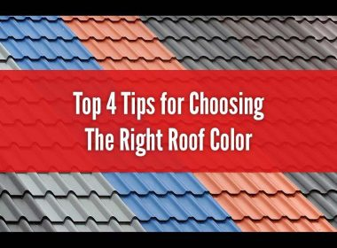 Choosing The Right Roofing Color